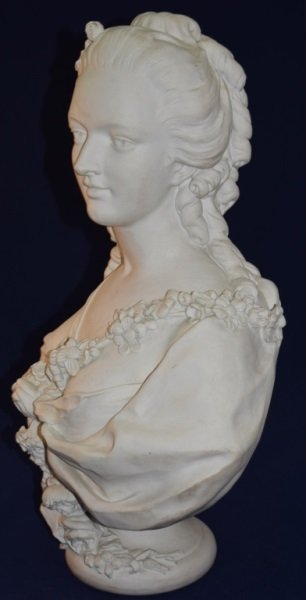 19C French Portrait Bust Princess de Lamballe - 4