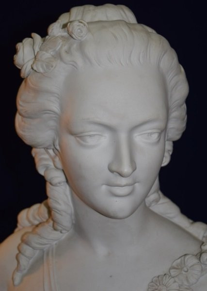 19C French Portrait Bust Princess de Lamballe - 6