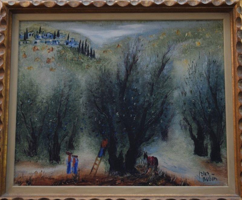 Reuven Rubin(Israeli)1893-1974 Pastorial Painting