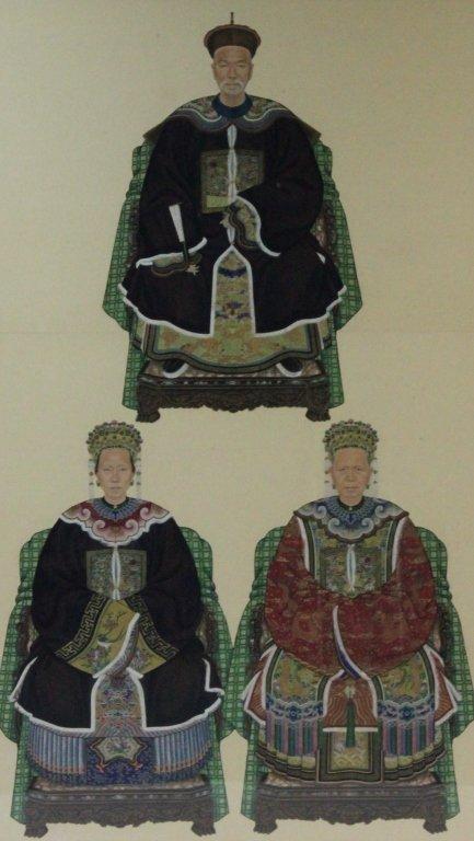 19th Century Chinese Ancestor Painting