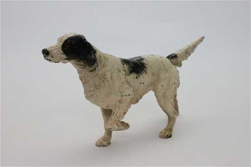 Hubley Cast Iron Door Stop Pointer Retriever Dog