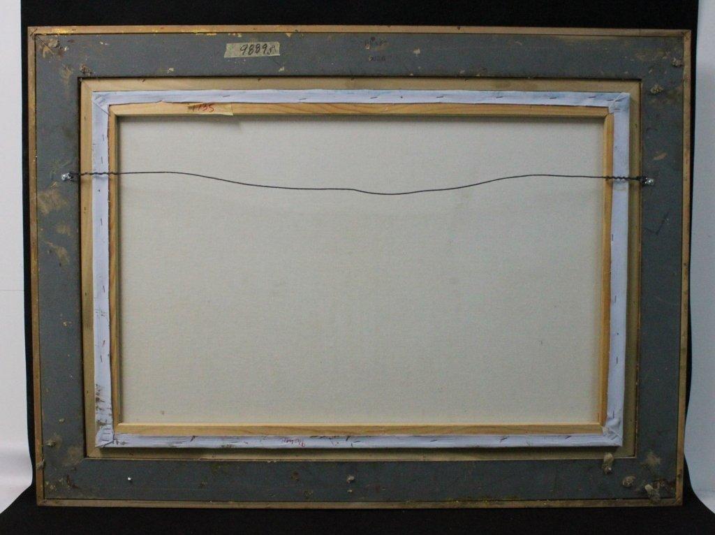 "Caroline Burnett Oil on Canvas ""Arc de Triomphe"" - 5"