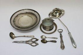 Lot Of Misc. Sterling Silver Hollowware & Utensils