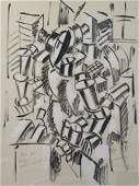 Fernand Leger (French 1881-1955) Cubist Lithograph