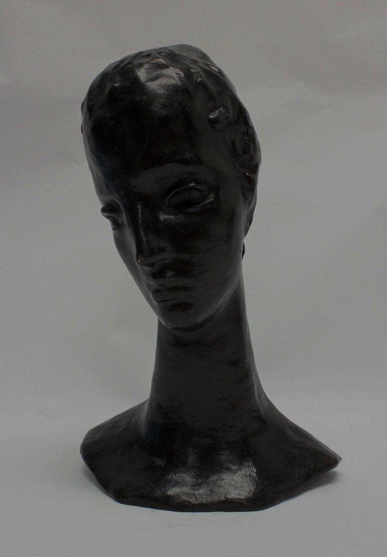 W. Lehmbruck (German, 1881-1919) Bronze Bust of Woman