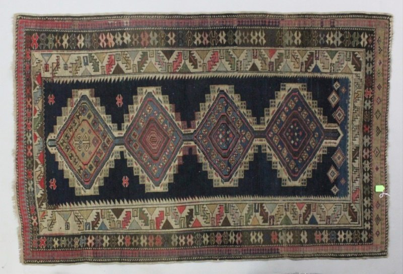 Antique Kasim Karabagh Azerbaijan Caucasian Rug