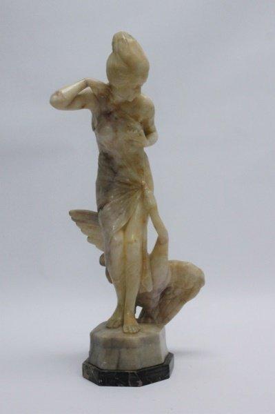 Josef Lorenzi (Austria1892-50) Alabaster Sculpture