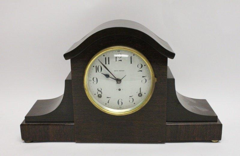 Seth Thomas Mahogany Mantel Clock Model 89 AL