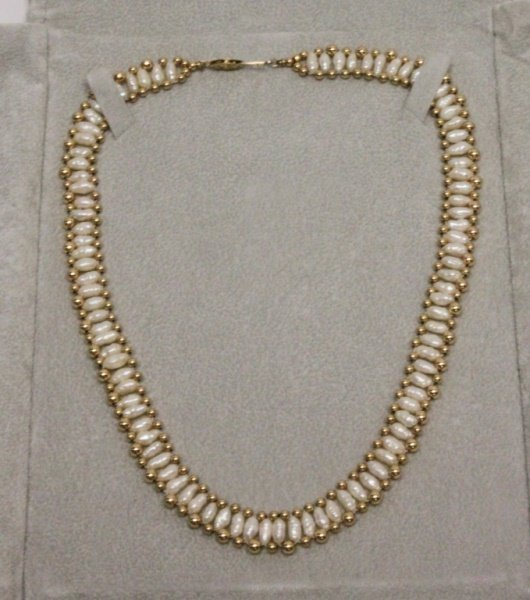 Fortunoff Fresh Water Pearl & 14k Gold Choker