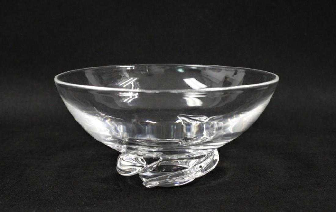 16710551dd9 1950 s Donald Pollard for Steuben Glass Bowl
