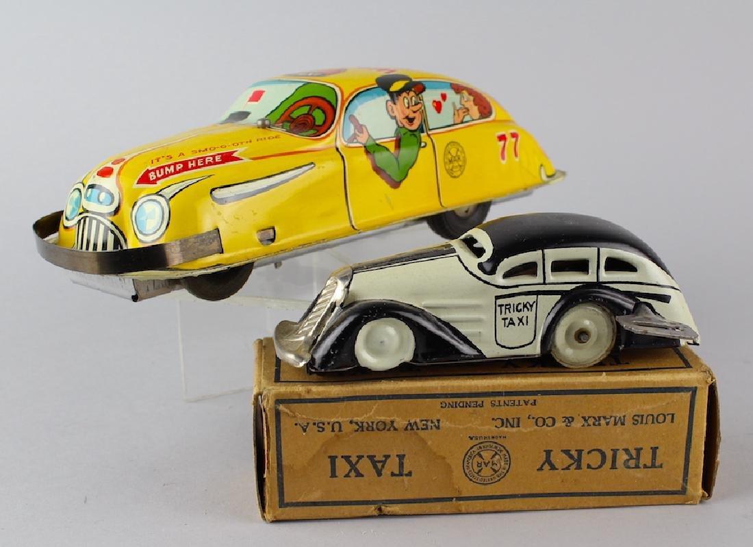 Marx Tricky Taxi in Box & Marx Bumper Taxi