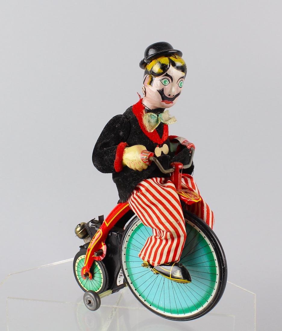 TPS Japan Tin Gay 90's High Wheeler Cyclist