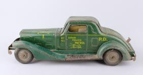 Marx Girard Siren Police Patrol Car