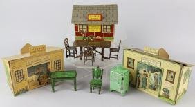 TootsieToy Doll Furniture &McLaughlin Buildings