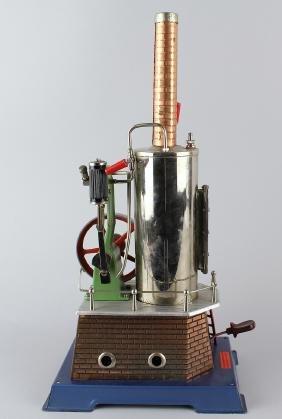 Wilesco German Steam Engine Vertical Plant