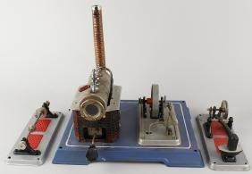 Wilesco German Steam Engine Plant & Hammer