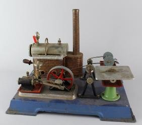 Wilesco Steam Engine Plant and Tools
