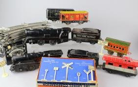 Marx NYC Trains and Lionel Signs