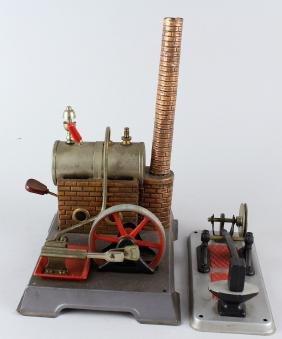 Fleischmann German Steam Engine & Hammer