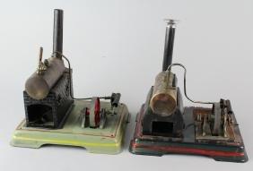 Pair of Fleischmann/Doll German Steam Engines