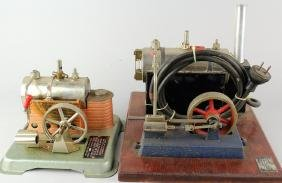 Pair of Jensen Steam Engine Plants