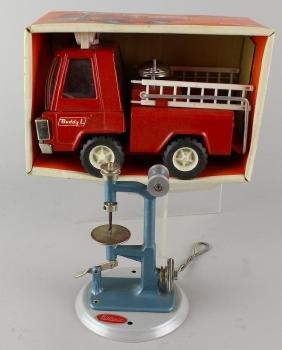 Wilesco German Steam Toy Drill Press& Buddy L