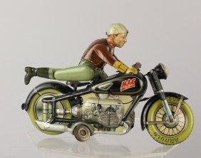 Arnold German Tin MAC Motorcycle