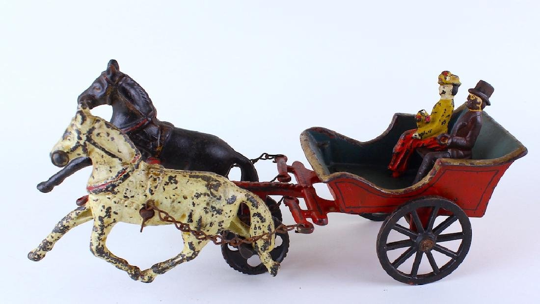 American Horse Carriage Ives or George Brown