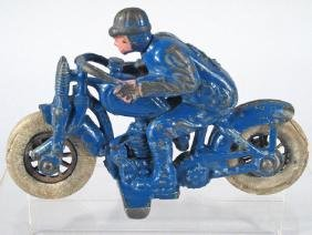 Hubley Cast Iron Racer Cycle No2