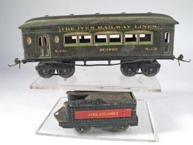 Ives Train Car Lot 132