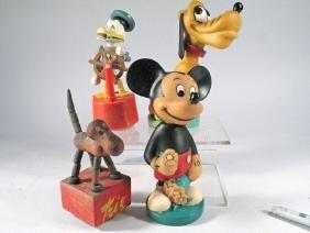 Walt Disney, Mickey Pluto, Donald Duck Lot