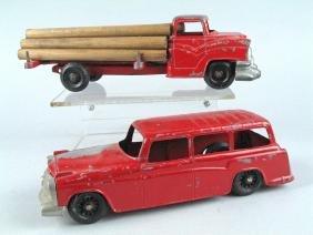 Hubley Diecast Truck Lot