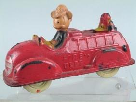 Auburn Mickey Mouse Fire Truck