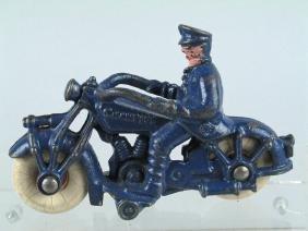 Champion Cast Iron Motorcycle