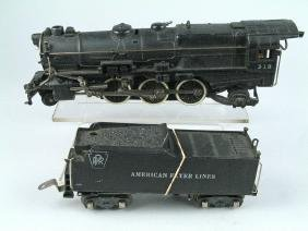 American Flyer Loco And Tender