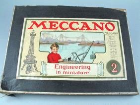 Meccano Engineering Miniature Set In Box