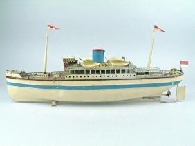 Fleischmann German Tinplate Ocean Liner