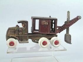 Hubley General Clam Truck Cast Iron