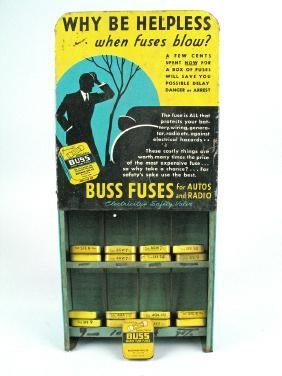 Buss Fuse Advertising Store Display