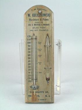 Hardware Store Thermometer Barometer