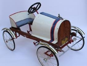 1930s Pedal Car with Gendron Lic Plate