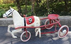Horse Trotter Pedal Car