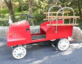 Steelcraft 1934 Mack Fire Engine Pedal Car