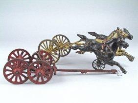 Wilkins Cast Iron Horse Drawn Parts Lot