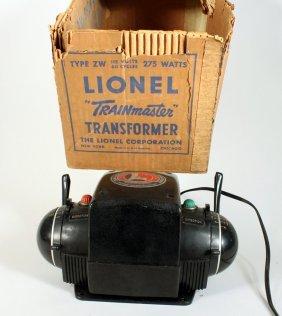 Lionel Large ZW Trainmaster Transformer