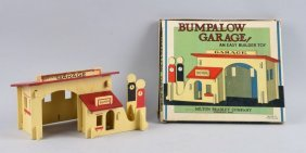 Milton Bradley Bumpalow Garage 1930s Bungalow In Box