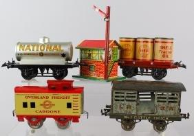 Hornby Meccano Rail Cars & Station