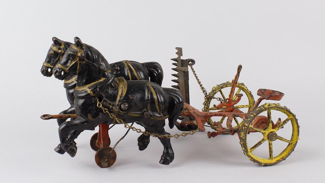 Cast Iron Draft Horse Hay Cutter Wilkins/Arcade