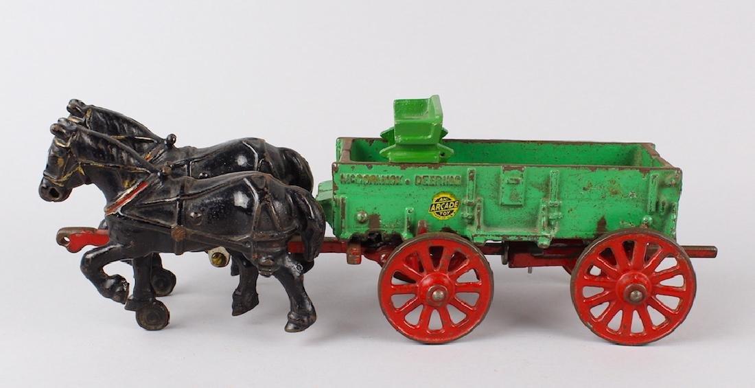 Arcade McCormick Deering Wagon