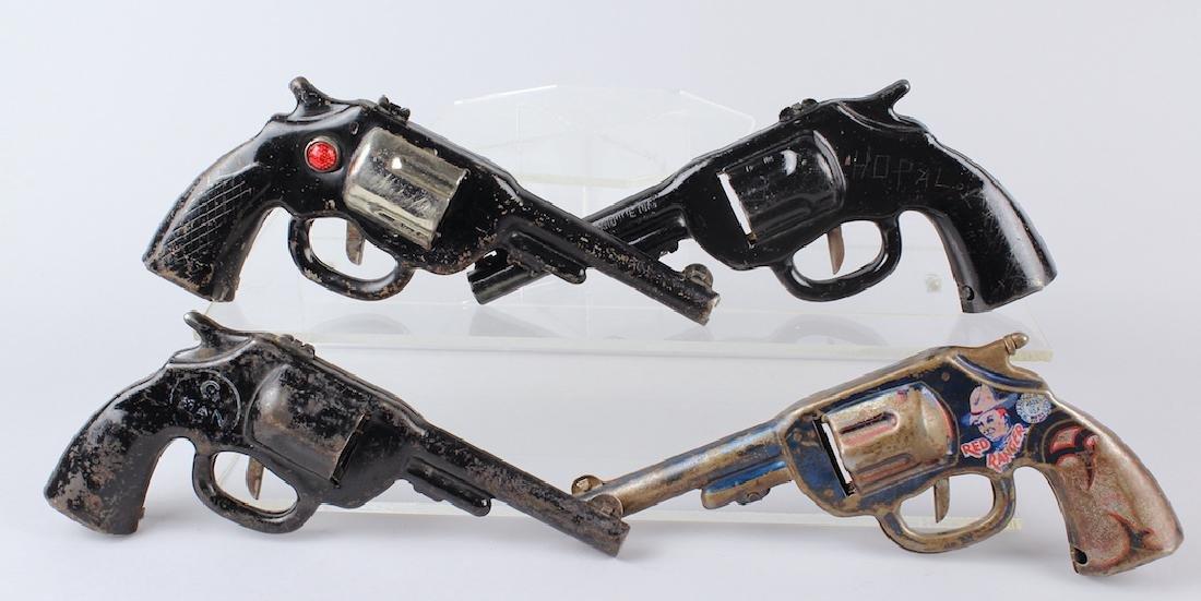 Red Ranger & Marx & Wyandotte Clicker Guns